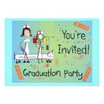 Invitaciones de la fiesta de graduación de la enfe comunicado
