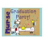 Invitaciones de la fiesta de graduación de la enfe anuncios