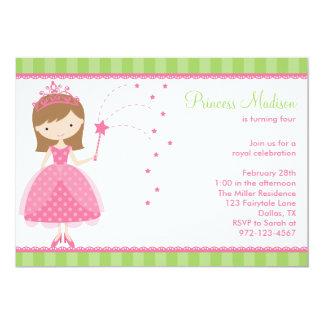 Invitaciones de la fiesta de la princesa invitación 12,7 x 17,8 cm