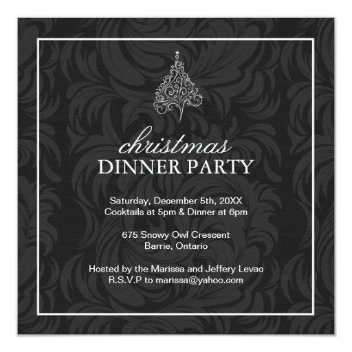 Invitaciones de la fiesta de Navidad Invitación 13,3 Cm X 13,3cm