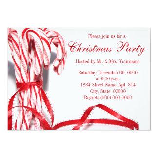 Invitaciones de la fiesta de Navidad de los Anuncios Personalizados