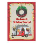 Invitaciones de la fiesta de Navidad del campesino Anuncios
