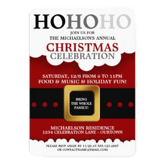 """Invitaciones de la fiesta de Navidad del juego de Invitación 5"""" X 7"""""""