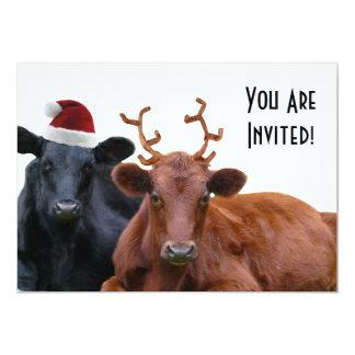 Invitaciones de la fiesta de Navidad del personal Comunicados Personales