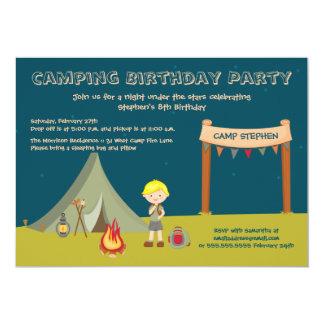 Invitaciones de la fiesta del cumpleaños del invitación 12,7 x 17,8 cm