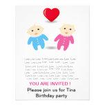 Invitaciones de la fiesta del cumpleaños del bebé comunicados personales