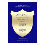 Invitaciones de la graduación de la policía, insig invitacion personal