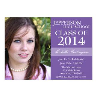 Invitaciones de la graduación del Dos-Tono Invitacion Personal