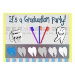 Invitaciones de la graduación del higienista denta anuncio