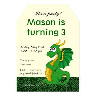Invitaciones de la impresión del cumpleaños del invitación 12,7 x 17,8 cm
