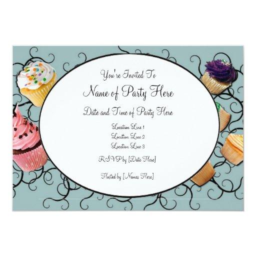 Invitaciones de la magdalena invitación 12,7 x 17,8 cm