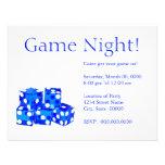 Invitaciones de la noche del juego comunicado