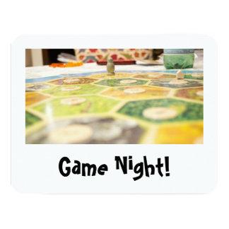 """Invitaciones de la noche del juego invitación 4.25"""" x 5.5"""""""