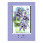 Invitaciones de la orquídea 5x7 del boda de Maui Invitación 12,7 X 17,8 Cm