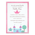 Invitaciones de la princesa fiesta del té invitación personalizada
