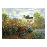 Invitaciones de la rosaleda de Monet Invitaciones Personales
