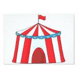 Invitaciones de la tienda de circo comunicados personales