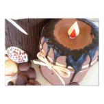 Invitaciones de la torta de la vela invitación 12,7 x 17,8 cm