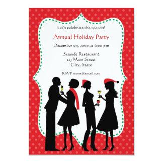 Invitaciones de las fiestas en la oficina del día comunicados personalizados