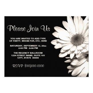 Invitaciones de las margaritas anuncio