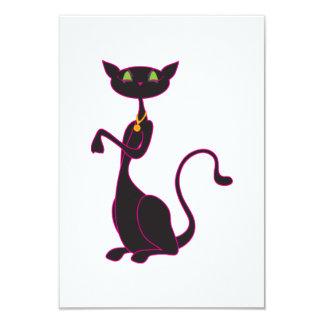 Invitaciones de Le Meow Noir Comunicados Personales