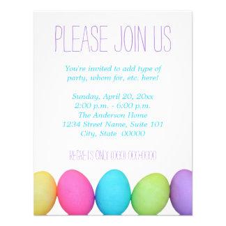 Invitaciones de los huevos de Pascua Invitacion Personal