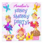 Invitaciones de lujo de la fiesta de cumpleaños de invitaciones personalizada