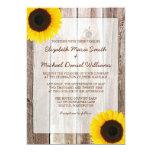 Invitaciones de madera del boda del granero comunicados