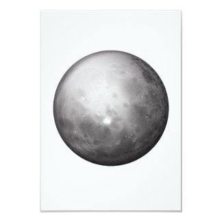 """Invitaciones de Mercury del planeta Invitación 3.5"""" X 5"""""""