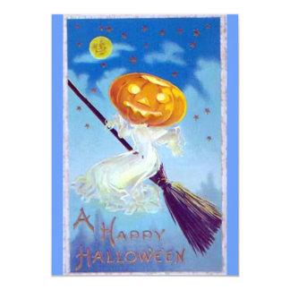 """Invitaciones de un fiesta del feliz Halloween Invitación 5"""" X 7"""""""