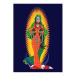 """Invitaciones de Virgen de Guadalupe del La Invitación 5"""" X 7"""""""
