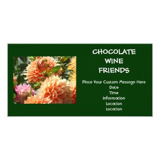 Invitaciones del acontecimiento de los amigos del tarjeta fotografica