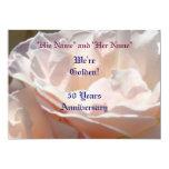 Invitaciones del aniversario fiesta de aniversario invitación 12,7 x 17,8 cm