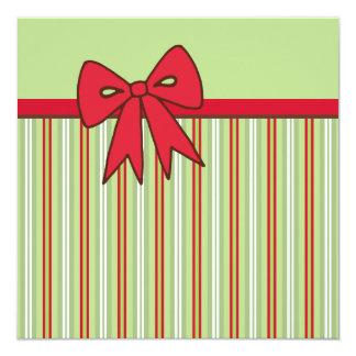 """Invitaciones del arco del navidad invitación 5.25"""" x 5.25"""""""