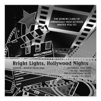Invitaciones del baile de fin de curso de Hollywoo Comunicado