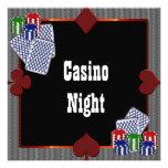 Invitaciones del baile de fin de curso del casino  comunicado