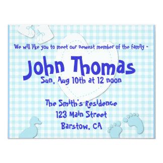 Invitaciones del bebé invitaciones personalizada