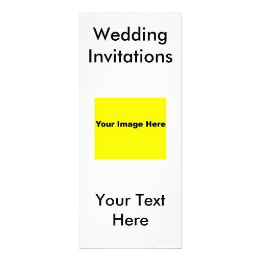 Invitaciones del boda anuncio