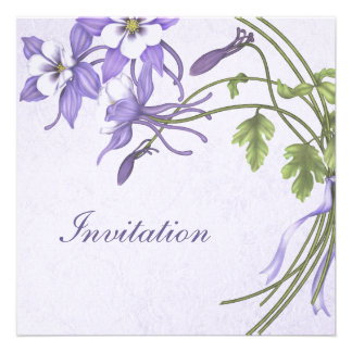 Invitaciones del boda de Columbine - Champán metál Invitacion Personalizada