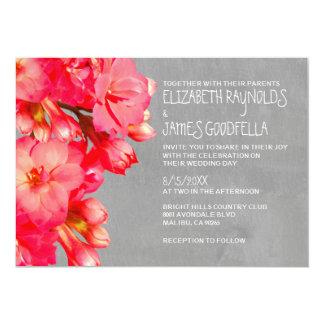 Invitaciones del boda de Kalanchoe Comunicado Personalizado