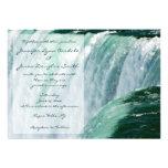 Invitaciones del boda de la cascada de Niagara Fal