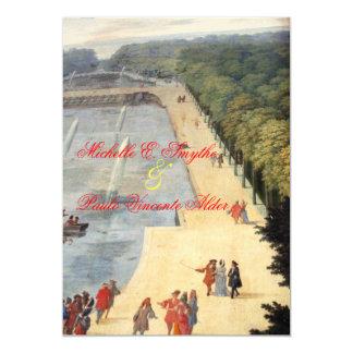 """Invitaciones del boda de la colección de Versalles Invitación 5"""" X 7"""""""