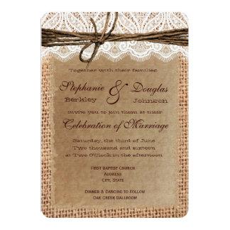 Invitaciones del boda de la impresión de la anuncio personalizado