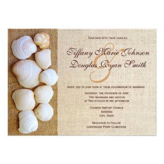 Invitaciones del boda de la impresión de la arpill comunicado personal