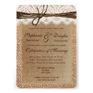 Invitaciones del boda de la impresión de la arpill