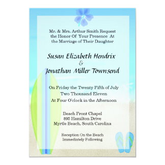Invitaciones del boda de la persona que practica invitación 12,7 x 17,8 cm