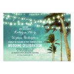 invitaciones del boda de playa del ombre del trull