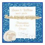 Invitaciones del boda de playa del VERANO Invitación Personalizada