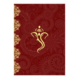 Invitaciones del boda de Vinayaka Invitacion Personal