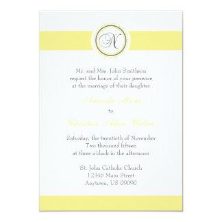 Invitaciones del boda del círculo del punto del comunicado personalizado